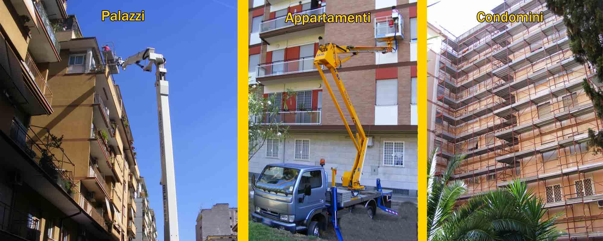 slide palazzi condomini appartamenti