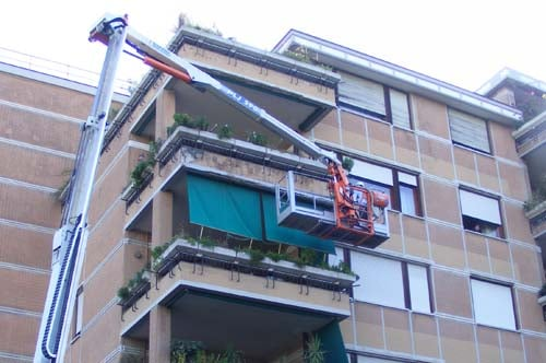 Rifacimento frontalini balconi Roma
