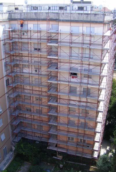 Rifacimento cornicioni Roma