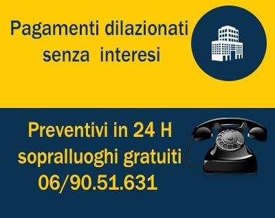 pagamenti dilazionati preventivi gratuiti
